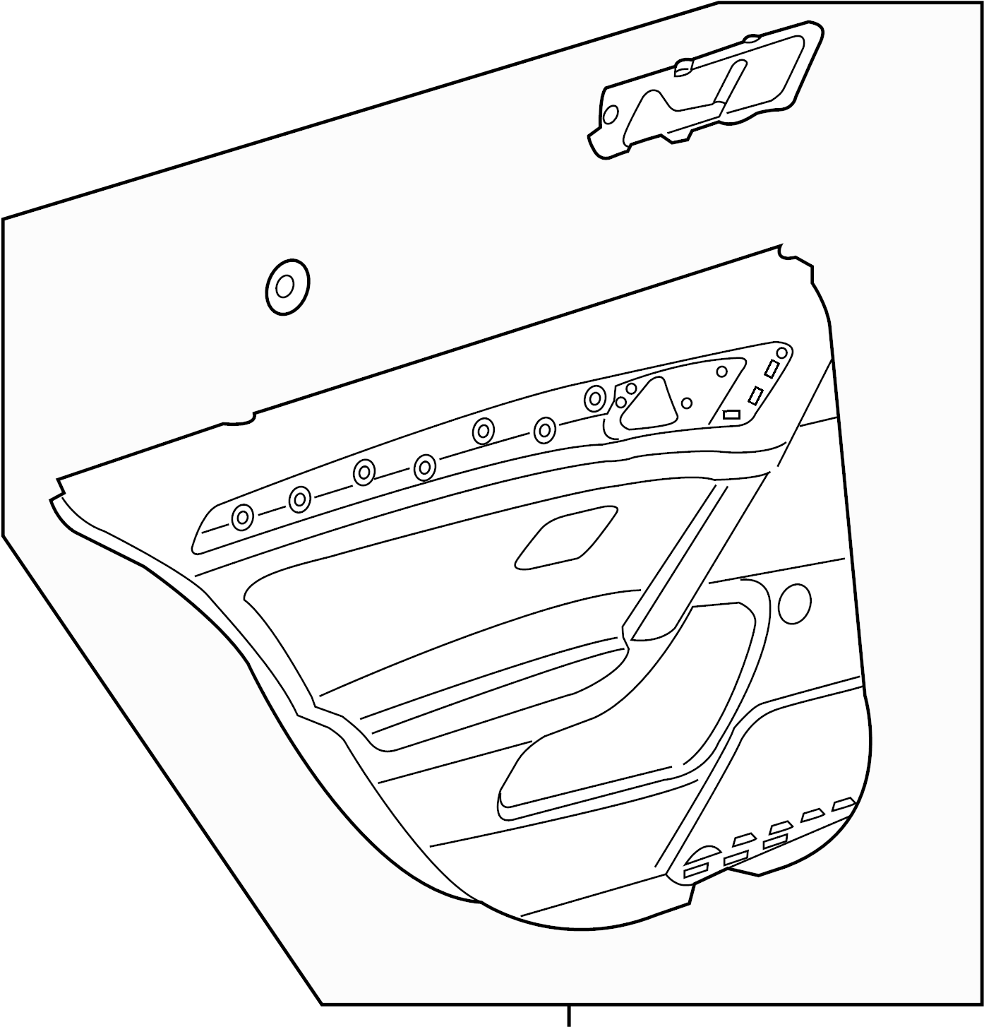 Volkswagen Gti Door Interior Trim Panel Door Trim