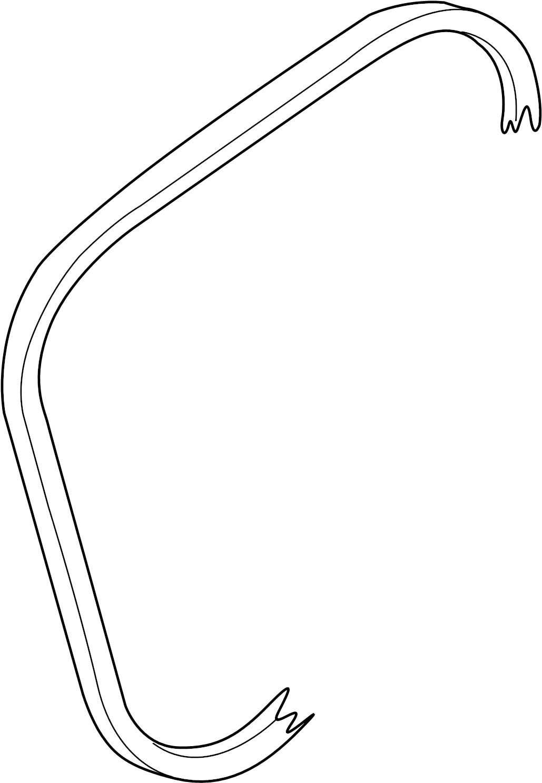 Volkswagen Eurovan Serpentine Belt Drive Having