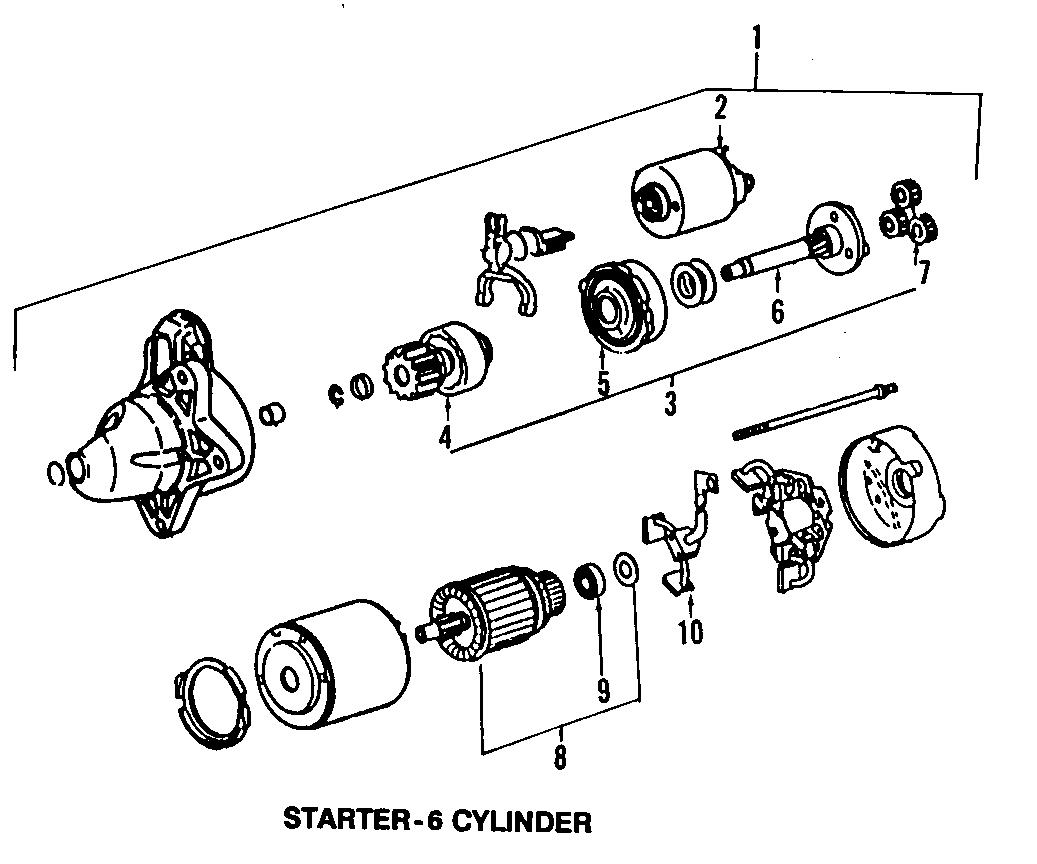 Mazda Mpv Pinion Shaft Mpv Starter
