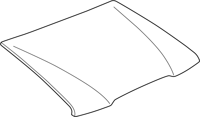 Mazda B Hood Panel Bonnet Hood Panel