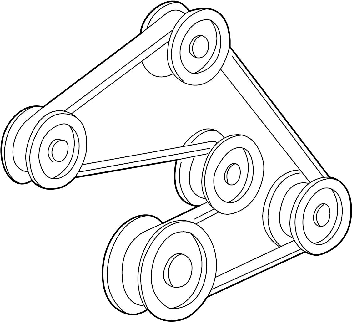 Mazda Mpv Serpentine Belt 01