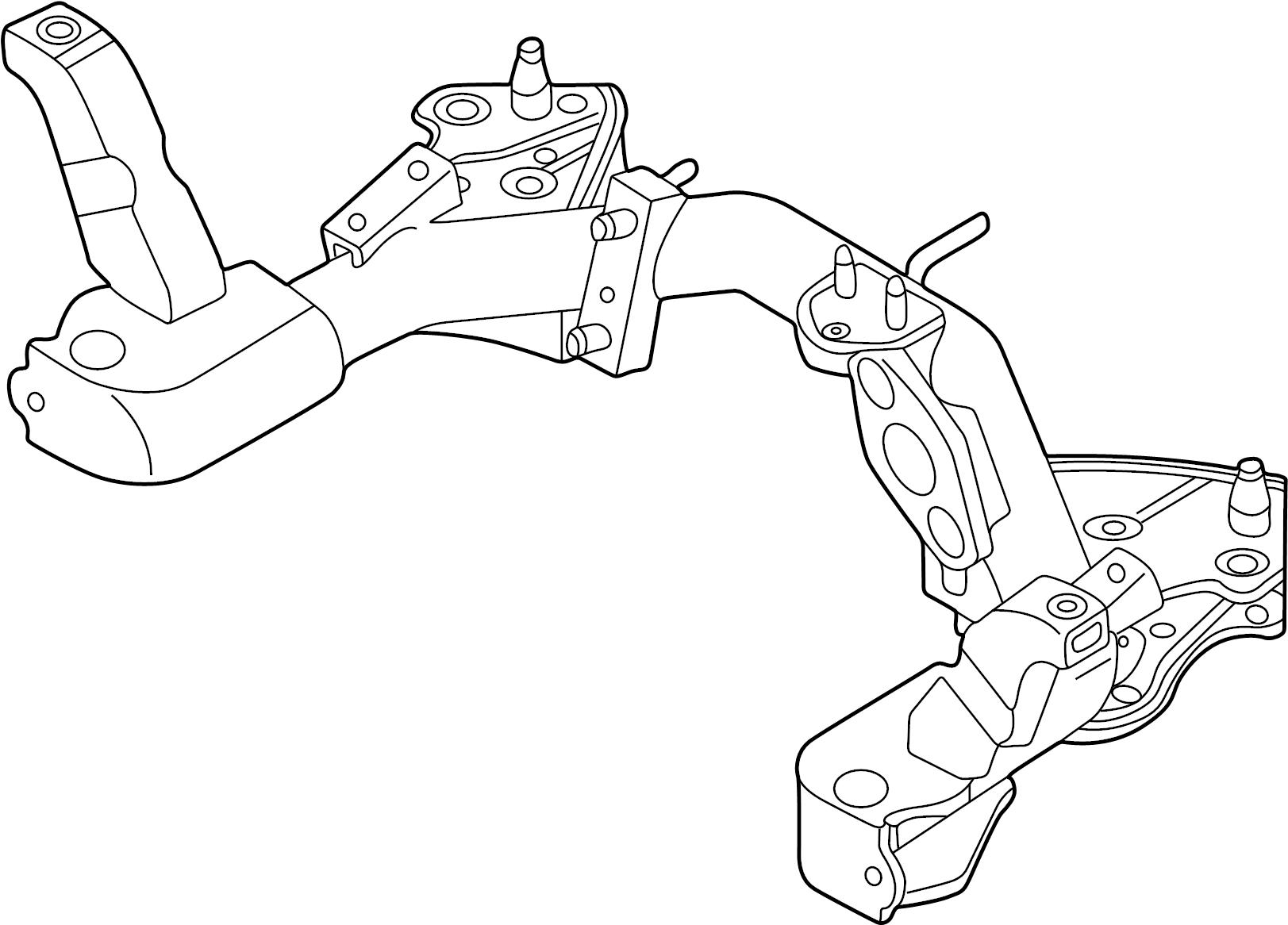 Mazda Mpv Engine Cradle Mpv Suspension Front