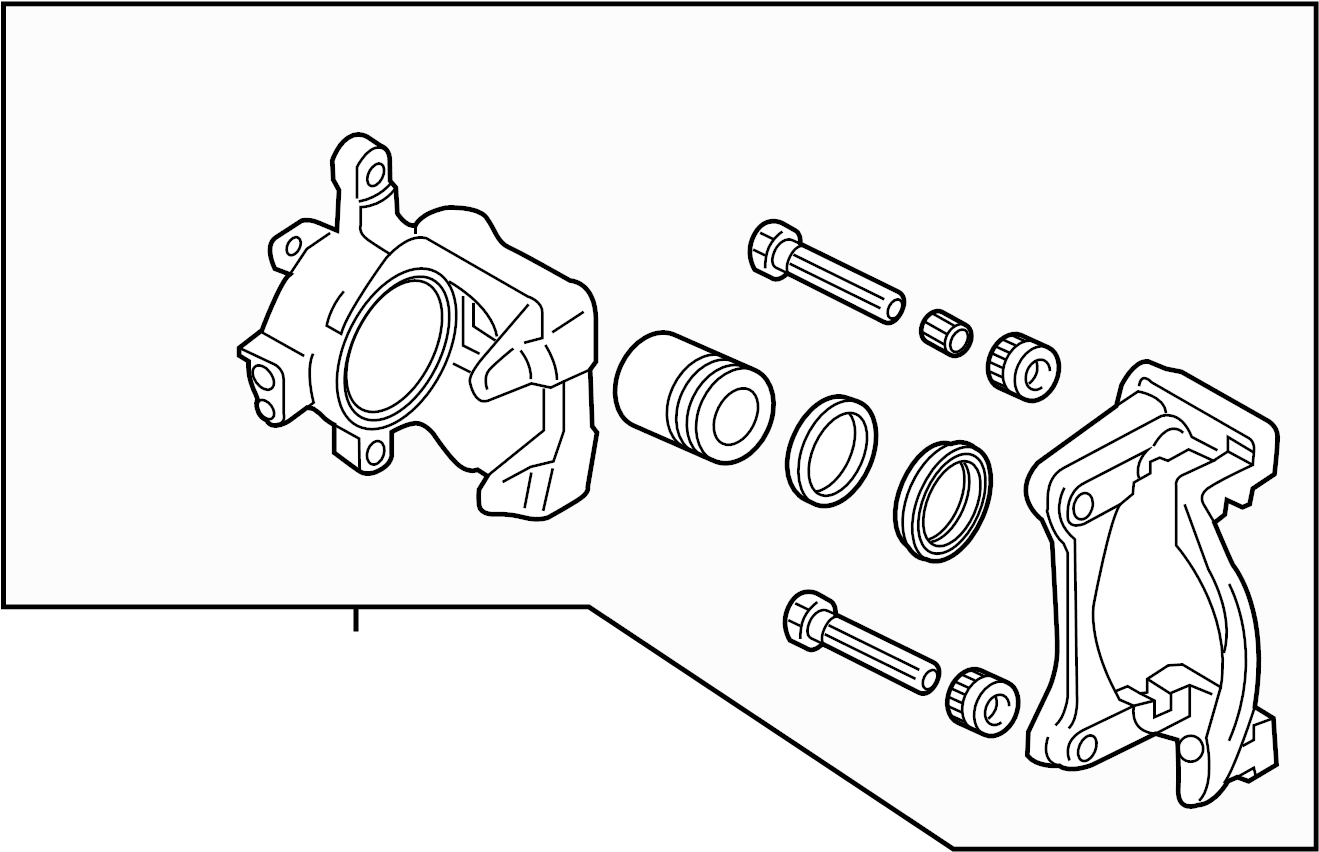 Mazda Mx 5 Miata Disc Brake Caliper Brakes