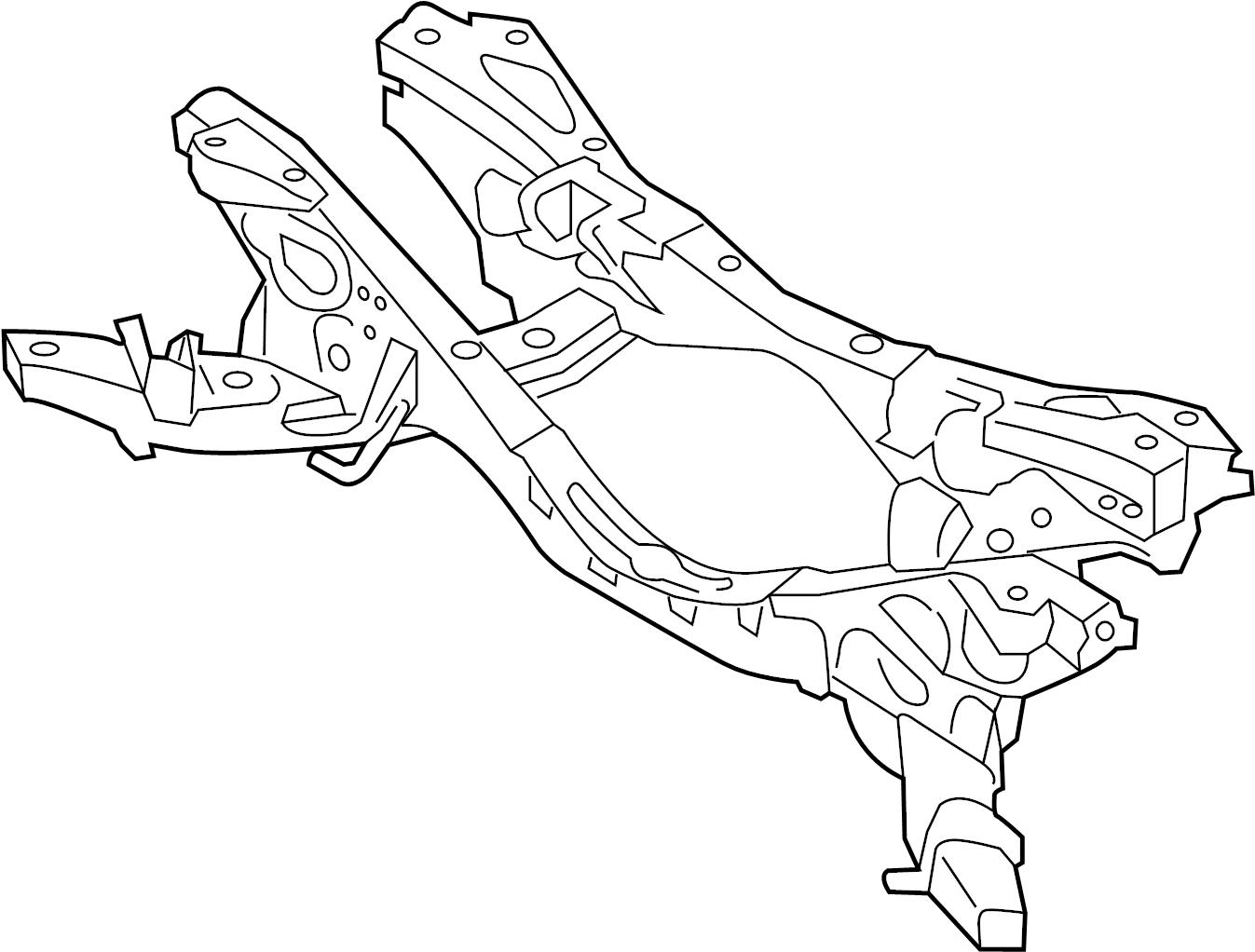Mazda Mx 5 Miata Suspension Subframe Crossmember Miata