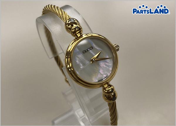 GUCCI シェル文字盤 バングル 腕時計 2700.2L 2700 [中古]| オフハウス 三和西橋本店