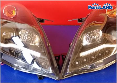 スイフトスポーツ ZC72S ZC32S ファイバーアクリルLED仕様 ヘッドライト 左右セット| ガレージオフ 湘南平塚店