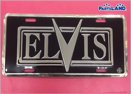 Elvis Presley ライセンスプレート| ガレージオフ 八王子堀之内店