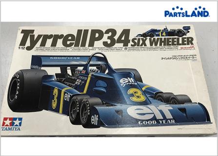 Tyrrell P34 タイレル6輪 F1 ジョディ シェクター  ガレージオフ 湘南平塚店