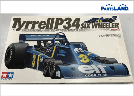 Tyrrell P34 タイレル6輪 F1 ジョディ シェクター| ガレージオフ 湘南平塚店