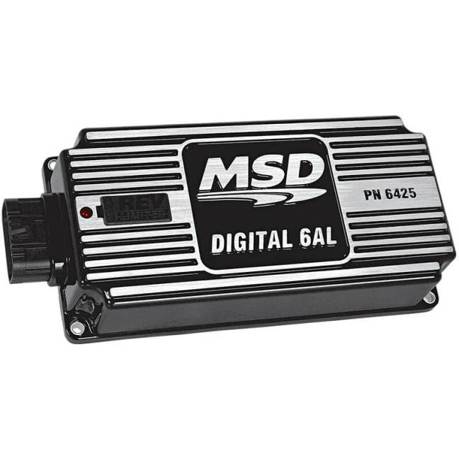 MSD Performance (64253): Digital 6AL Ignition Control with Rev Limiter (Black)