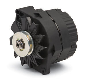 PROFORM (66448.12N): Black Crinkle One-Wire Alternator, GM 120 Amp