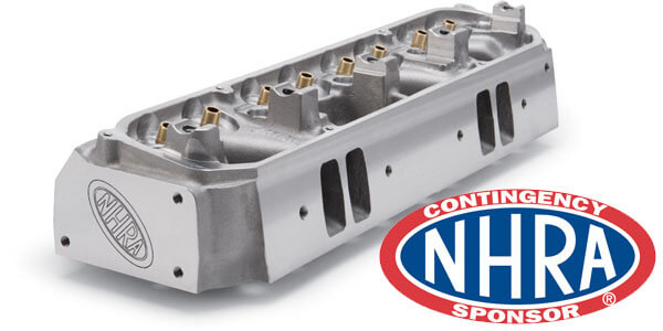 Edelbrock NHRA-Approved Cylinder Heads