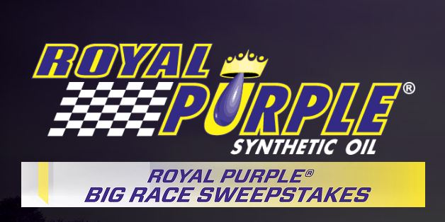 Royal Purple: Win Two Tickets to the Indy 500
