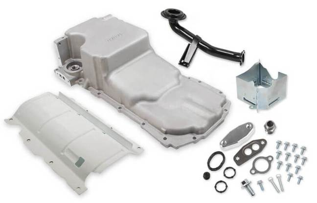 Holley Retrofit Drag Race Oil Pan for GM Gen V LT