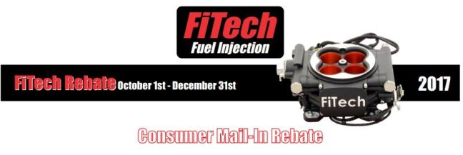 FiTech 50 Dollar Rebate on TBI and Master Kit
