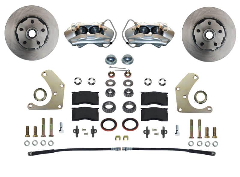 LEED Brakes (FC2001SM): Spindle-Mount Front Disc Brake