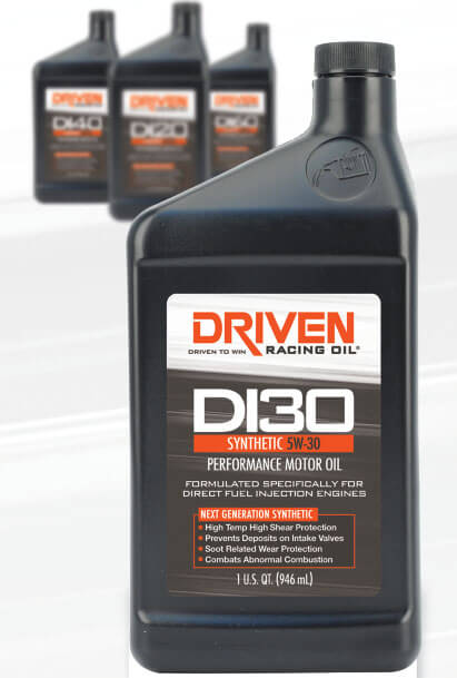 Driven Racing Oil: DI Synthetic Performance Racing Oils
