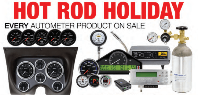 AutoMeter Hot Rod Holiday