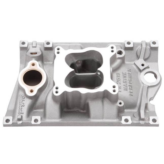Edelbrock Marine Performer Intake Manifold for Chevy 4.3L V6 Vortec