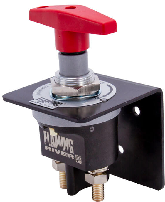 Flaming River 500 Amp Racing Battery Disconnect Safety Switch