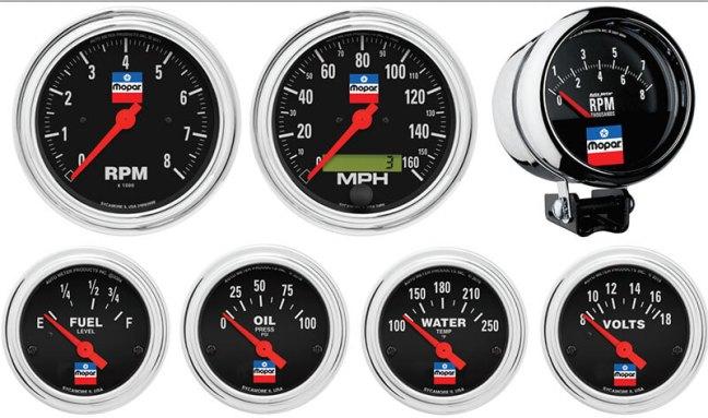 AutoMeter Mopar Classic Gauges