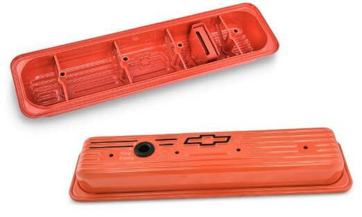 PROFORM Chevy Orange Value Covers for SBC Gen II