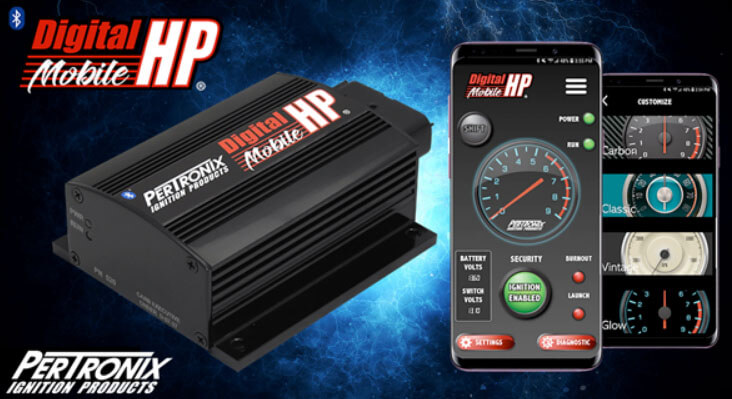 Pertronix 510 Black Digital HP Ignition Box 187 mJ Multi Spark 3 Rev limiter