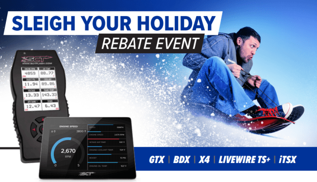 "SCT: ""Sleigh Your Holiday"" Event Gets You Up to $50 Back on Select Tuners"