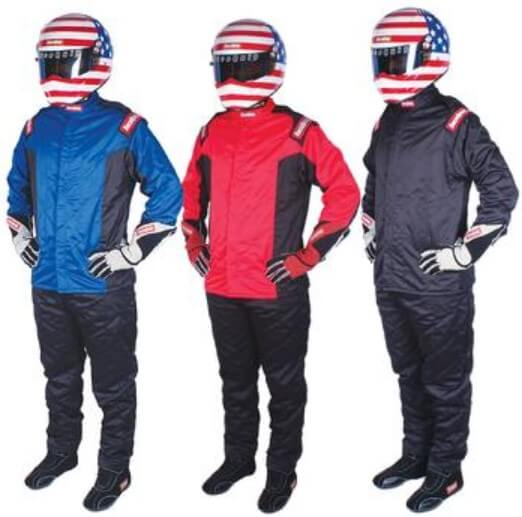 RaceQuip Chevron-5 Nomex SFI-5 Jackets and Pants