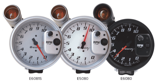 "AutoMeter: Equus 5"" Shift-Lite Tachometers"