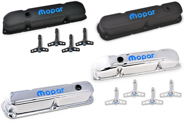 PROFORM Mopar Valve Covers and Wing Nuts