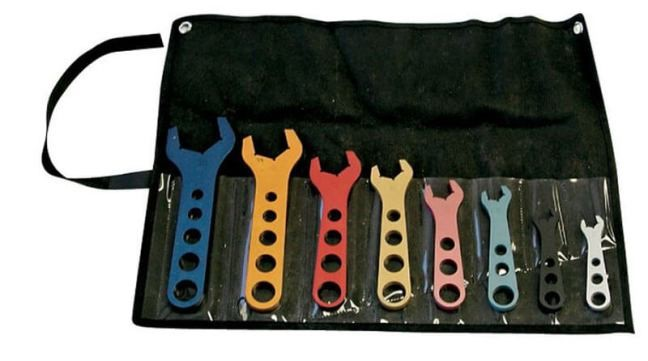 PROFORM (66978): Eight-Piece Aluminum AN Wrench Set