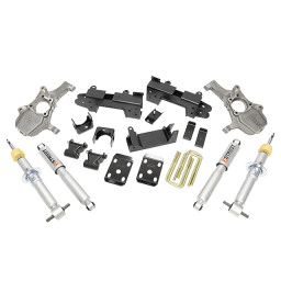 Belltech (1040SP) Complete Lowering Kit with Street Performance Shocks for `19-`20 Chevrolet Silverado 1500 Crew Cab RWD