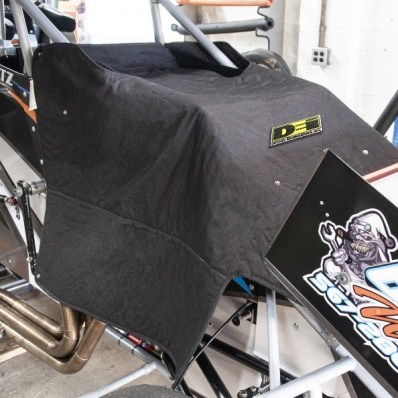 <strong>Design Engineering, Inc. (010225): </strong>Sprint Car Thermal   Engine Cover