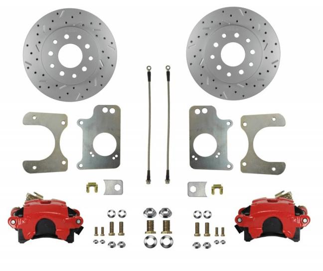 LEED Brakes (RRC1009X): Drum-to-Disc Rear Brake Conversion Kit for GM