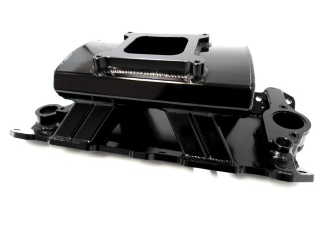 Racing Power Company Fabricated Intake Manifold for SBC V8 R5445BK