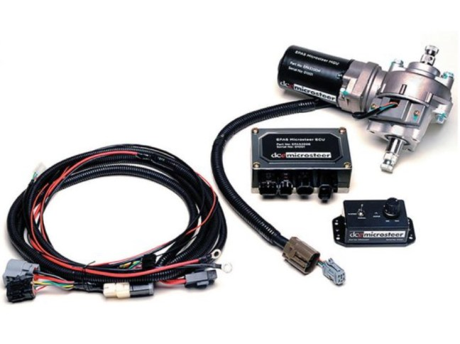 Flaming River FR40200KT Microsteer Electric Power Steering Kit with Speed Sensor