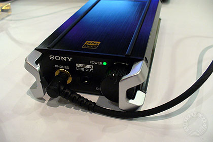 Sony PHA-2 Hi-Res Portable DAC/Amp prototype