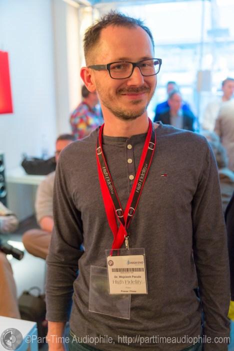 Wojciech Pacuła of High Fidelity (Poland)
