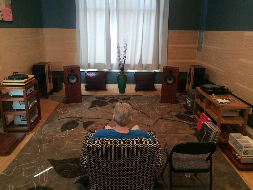 Portland Hifi's secret super listening room.