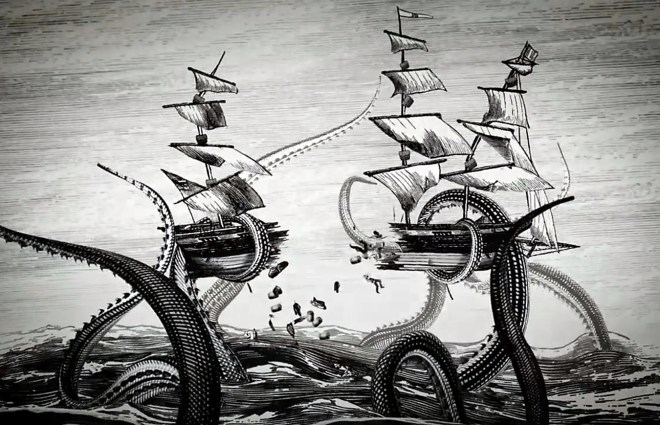 The Kraken of yore
