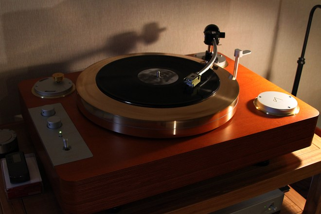 SPEC GMP-8000EX turntable with EMT 997 tonearm and TSD-15 MC Stereo cartridge