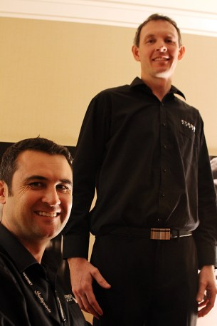 Lee and Leon of Kyron Audio.