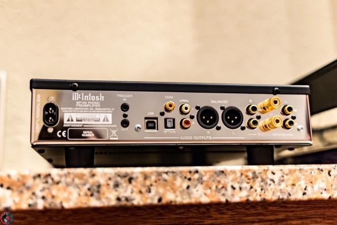 MP100 Phono, rear