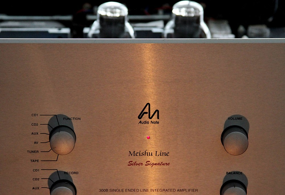 Review: Audio Note Meishu Silver Signature integrated amplifier