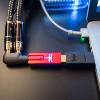 High End 2017: MQA upgrade in under 5 minutes with the Audioquest Dragonfly