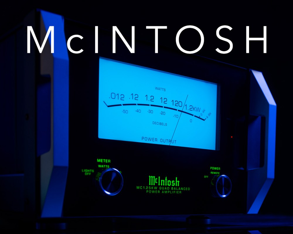 McIntosh drops 1,200 watt amp: MC1.25KW Quad Balanced Power Amplifier