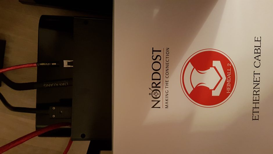 Review: Heresy with a Nordost Heimdall 2 ethernet cable | Part-Time