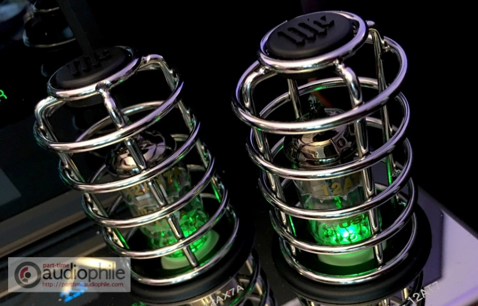 McIntosh MA252 tubes in cages!