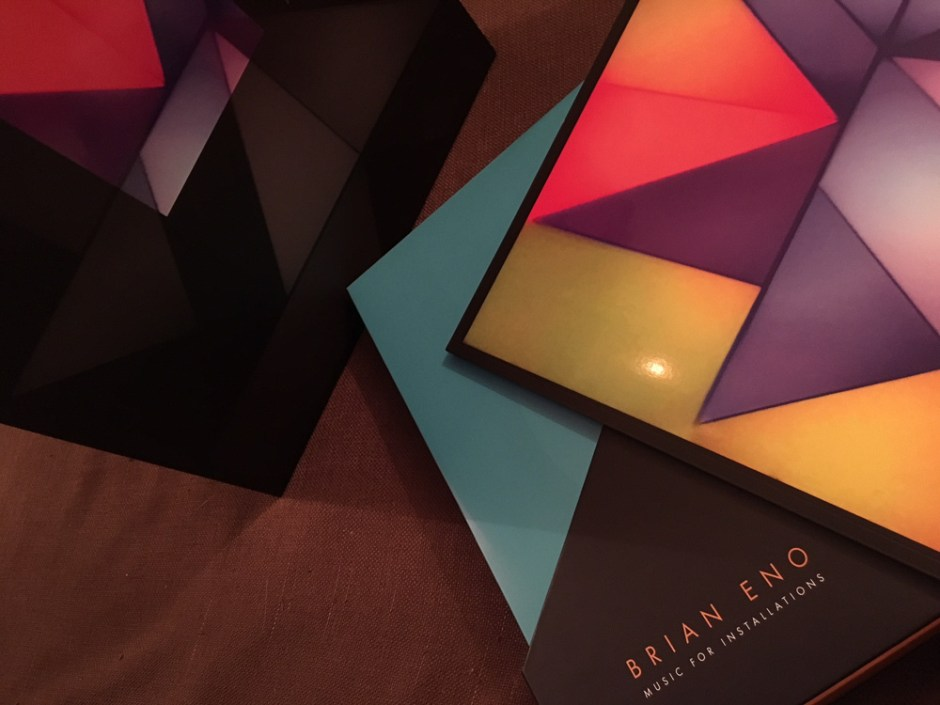 """Review: Brian Eno """"Music For Installations"""" 9 LP box set"""
